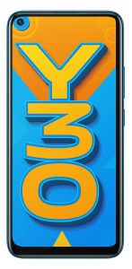 Vivo Y30 Smartphone (Dazzle Blue, 4GB RAM, 128GB Storage) | Pack of 1