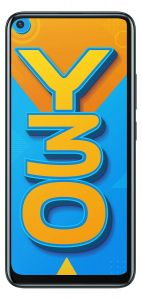 Vivo Y30 Smartphone (Emerald Black, 4GB RAM, 128GB Storage) | Pack of 1