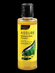 New Assure Moisture Rich Shampoo (Pack of 1)