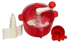 Dough Maker Machine with Measuring Cup (Atta Maker) (Color - Red)a