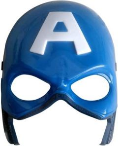 PTCMART Avengers Captain America Face Mask With LED Party Mask (Pack of 1)