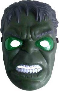 PTCMART Avengers Hulk Shape Design Face Mask With Led Light For Party