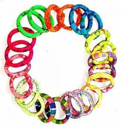 CATALYST Hair Bands For Women and Girls (Pack of 24) (Multi-Color)