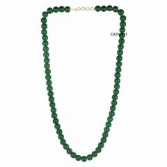 CATALYST Stylish and Designer Pearl Necklace For Women & Girls (Green)