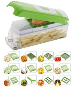 Mummy High-Quality Stainless Steel Vegetable Slicer Cutter (Multi-Color) (Pack of 1)