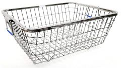 High-Quality Premium Stainless Steel Dish Drainer (Silver) (Pack of 1)