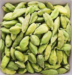 VEDELA Naturals-Green Cardamom WholeBig Size Elaichi Treats Skin Problems (300 G) (Pack of 1)