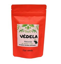 VEDELA Naturals-Pure Natural Flax Seeds Alsi-Benefits For Hormone Balance And Cellular Health No Added Color (1 KG) (Pack of 1)