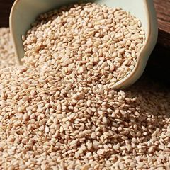 VEDELA Naturals-White Sesame-Til Clean & Naturals No add Colours Good Source Of Energy (1kg) (Pack of 1)
