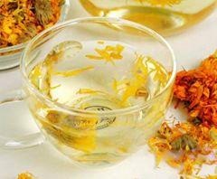 VEDELA Naturals-Herbal Marigold tea 100 % Pure & Natural Marigold Weight Loss Calendula Herbal Tea (30 G) (Pack of 1)