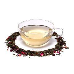 VEDELA Naturals- Rose Green Tea Made with 100% Whole Leaf Loose Rose Flavor (25 G) (Pack of 1)