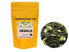 VEDELA Naturals-Made With 100% Whole Leaf Jasmine Green Tea Loose Tea (100 G) (Pack of 1)