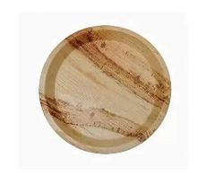 Eco-Friendly Bio Disposable Areca Leaf Food Serving Plates Tray Tableware (Pack of 5)
