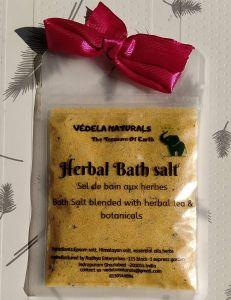 VEDELA Naturals- Bath Salt Blended With Herbal Tea And Botanicals, Hand Made Product (Rose, Rosemary & Lemon) (100*3=300 G) (Pack of 3)
