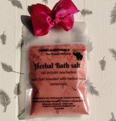 VEDELA Naturals presents Bath salt | herbal bath salt |blended with herbal tea and botanicals | Hand made product | (JASMINE) 80grm Only