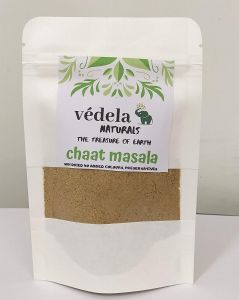 VEDELA Naturals -Chat Masala Blended with Pink Himalayan Salt All Natural & Blended Spices (100*2 =200 g) (Pack of 2)