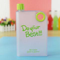 Best Sapphire A5 Notebook Water Bottle 380 ml (Green)