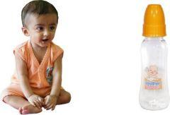RFL Milk Feeding Bottle For Baby  (240 ml)  (Orange)