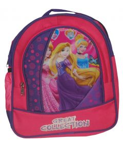BAGO Great Collection Printed School Bag For Girl's & Kid's (Pink) (Pack of 1)