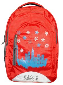 BAGOS Casual College, School and Travel Backpack Bag For Daily Use |41 cm| (Pack of 1)