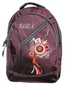 BAGOS Casual College, School and Travel Backpack Bag For Daily Use |41 cm| (Capacity: 25 Liter) (Pack of 1)
