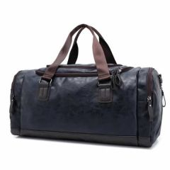 Fashionable and Stylish With Large Capacity Travel Duffel Leather Handbag For Men's (Pack of 1)