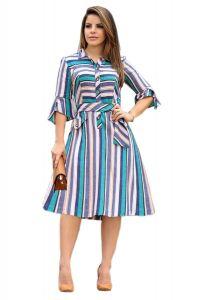 Bagrecha CreationsUnique Design Printed Dress | Western Wear Long Knee-Length Top For Girl's & Women's