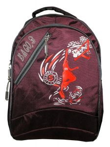 BAGO Casual College Daypack Medium Size Backpack Bag For Daily Use |41 cm| (Capacity: 25 Liter) (Pack of 1)