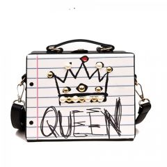 Fashionable And Stylish Box Shape Casual Handbag For Women's & Girls (Pack of 1)