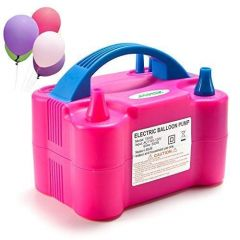 CYALERVA High Power Electric Balloon Inflator, Air Pump For Wedding Party, Foil Balloons, Inflatable Toys, Anniversary Party & Bedroom Decoration