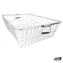 Prabhed High-Grade Stainless Steel Dish Drainer Basket | Dish Drying Rack | Bartan Basket for Kitchen