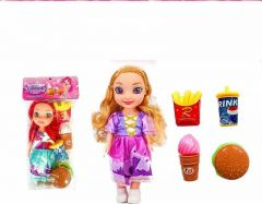 Beautiful Doll With 3D Eyes And Made To Movable Hands, Combo Set (Pack Of 1 Set)