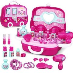 Toy Beauty Suitcase Makeup Kit Toy Designed Especially For Your Little Princess (Pack of 1 Set)