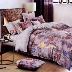Fabric Empire Ultrasoft Glace Cotton Queen Size Bedding Set with 1 Double Bedsheet and 2 Pillow Covers