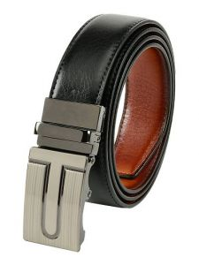 Fashionable Elite Solid Synthetic Leather Belt For Men's (Multi-Color) (Pack of 1)