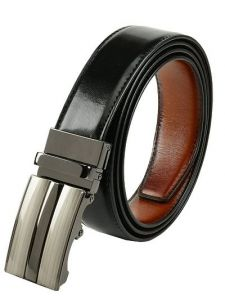 Elite Reversible Synthetic Leather Belt For Men's (Multi-Color) (Pack of 1)