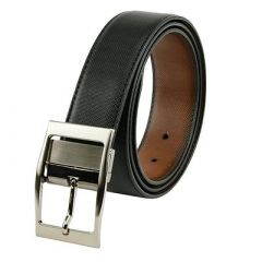Elite Solid Synthetic Leather Casual Wear Belt For Men's (Multi-Color) (Pack of 1)
