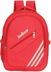 LeeRooy Medium 21 L Laptop Backpack 17.5inch B type 24 liter Bag for Modern College Boys & Girls (Red)
