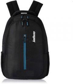 LeeRooy 17.5inch B type 24 ltr Bag for Modern Colledge Boys and Girls 23 L Laptop Backpack (Black) (MN BG16 black)