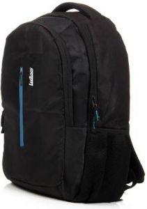 LeeRooy School Bag Backpack For Unisex Waterproof Backpack (Black, 10 inches) (MN-Canvas 30 Ltr Black)