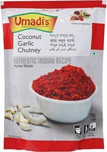 Umadi Cocobuygarlic Chutney Pure Vegetarian & Wonderful Test (Each Pack 200 Grams) (Pack of 2)