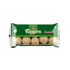 Shreeji Premium Pure Rajgira Ladoo (Pack of 10) (Each Pack 10 Pieces) (10x10= 100 Ladoos Total)