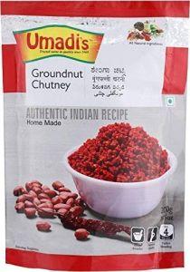 Umadi Bijapur Famous Umadis Groundnut Chutney Powder (Shenga Chutney) (Pack of 8)