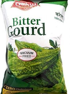 Gokul Vacuum Fried Bitter Gourd Oil-Free Healthy Chips (Pack of 2)