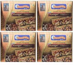 Sadanand Sweets Premium Golden Kardant | Ingredients Jaggery, Coconut, Dry Fruits (250x4= 1 Kg) (Pack of 4)