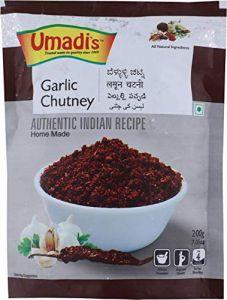 Umadi Garlic Chutney Powder Best Flavour and Quality (Pack of 2)