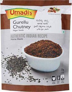 Umadis Gurellu Chutney Powder Made From Niger Seeds (Pack of 2)