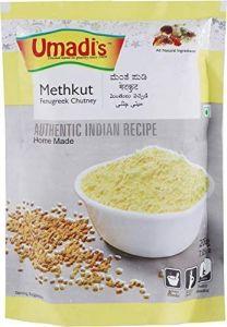 Bhavani Foods Umadis Methkut Chutney Powder | Healthy Meal (Pack of 2)