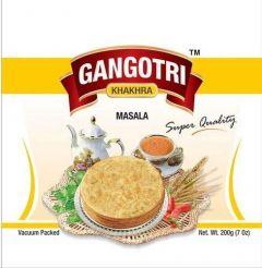 Bhavani Foods Premium Gangotri Khakhra Masala Super Quality (Wheat Chips) (Pack of 4)