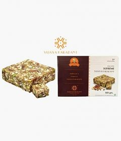 Bhavani Foods Amingads Famous Vijaya Organic Supreme Karadant best for Small Childrens & Adults (Pack of 2)